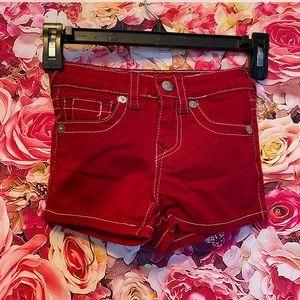 3/$20 True Religion shorts size 5